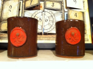 Steampunk Espresso cups by Phil Berneburg