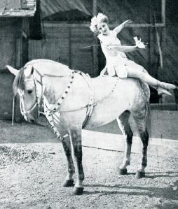 Girl on Horseback1909 Harpers Weekly