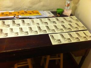 Art Walk letterpress