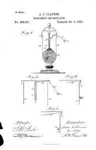 1883 Claussen Patent 286531
