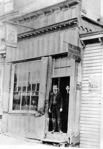 Alfred Burton's Watch Repair and Jewelry Shop - Historic Photo Collection - Harpers Ferry National Historic Park