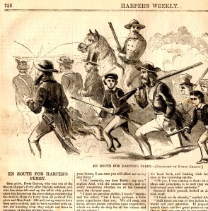 En Route to Harpers Ferry Nov 26 1859