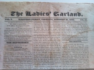 Ladies Garland October 21, 1826